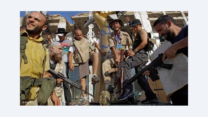 مخاوف من ان تؤثر الانقسامات في صفوف الثوار على ليبيا ما بعد القذافي