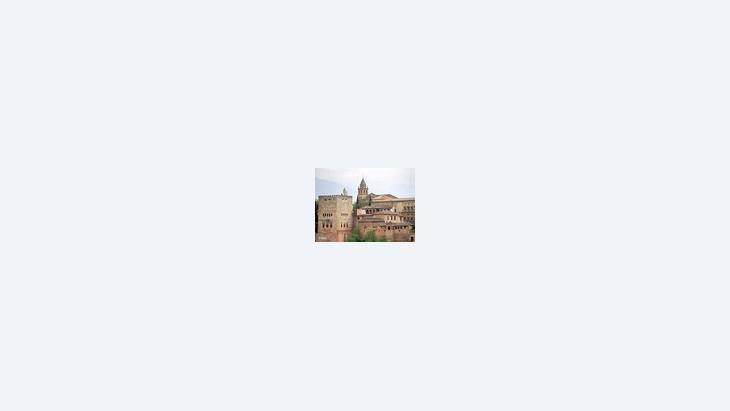 قصر الحمراء في غرناطة، الصورة: د ب أ