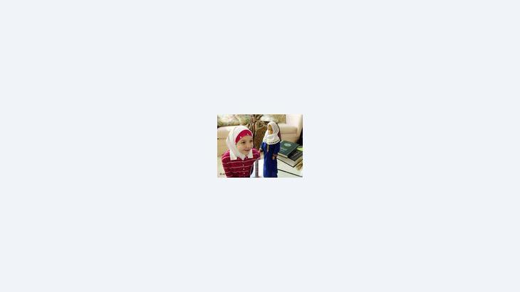 الدمية رزانة، الصورة: ا.ب