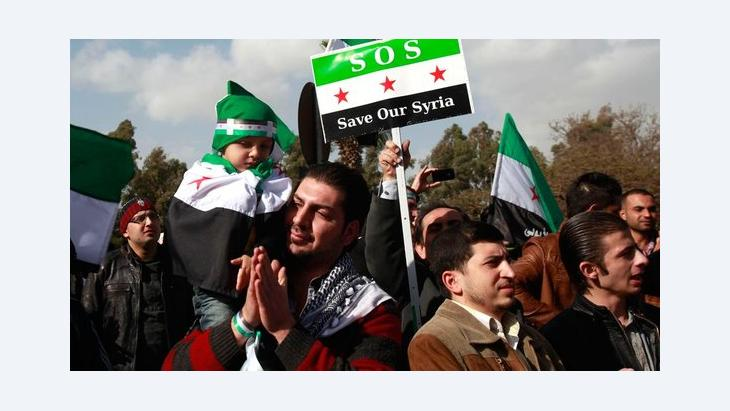المشهد السياسي العربي للعام المقبل، تطور الاوضاع في سوريا سيحدد شكل العالم العربي الجديد، الصورة رويتر