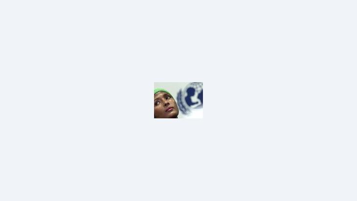عارضة الازياء الصومالية ديري وريس الناشطة من أجل مكافحة ختان الفتيات، الصورة: ا ب