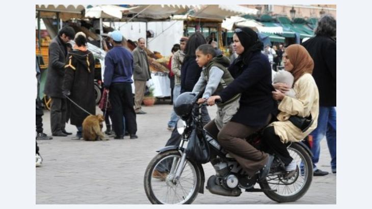 المرأة المغربية خطت خطوات كبيرة نحو حقوقها مقارنة بالمرأة في المشرق العربي،الصورة: د.ب.أ