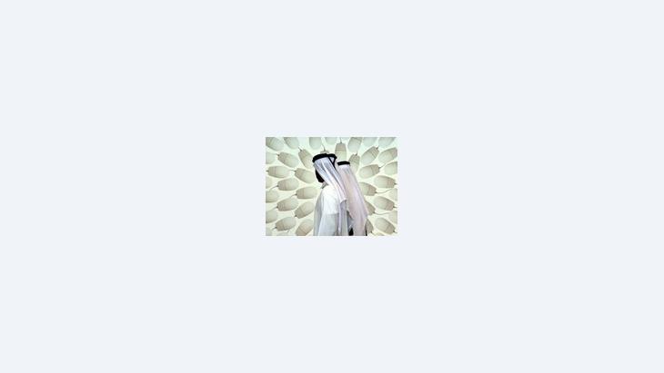 زوار معرض لتقنية المعلومات في دبي، الصورة: أ.ب