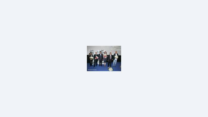 لجنة تحكيم أفلام المهرجان:مدكور ثابت، إيلي يزيك، ستيفاني فان دي بيير، فتحي الهداوي، نسرين مدرار، الصورة دويتشه فيله