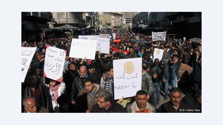 الاصلاح في الأردن بداية انهيار المحرَّمات وتلاشي الخطوط الحمراء