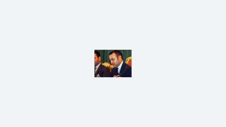 الملك محمد السادس، الصورة: أ.ب