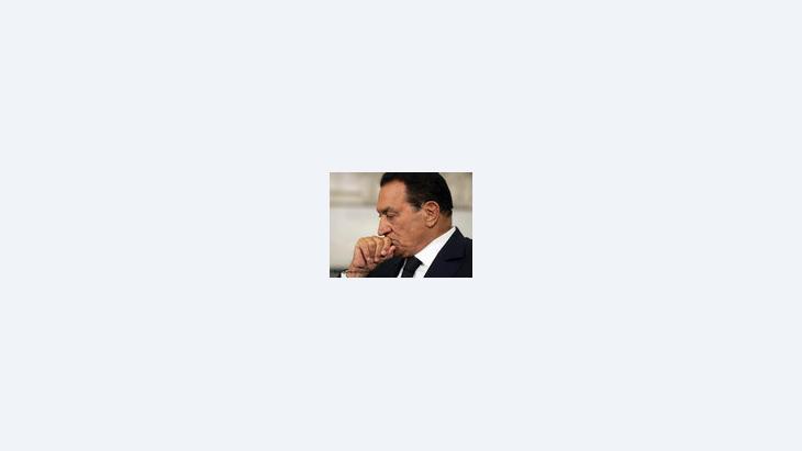 محمد حسني مبارك. الصورة: د ب أ