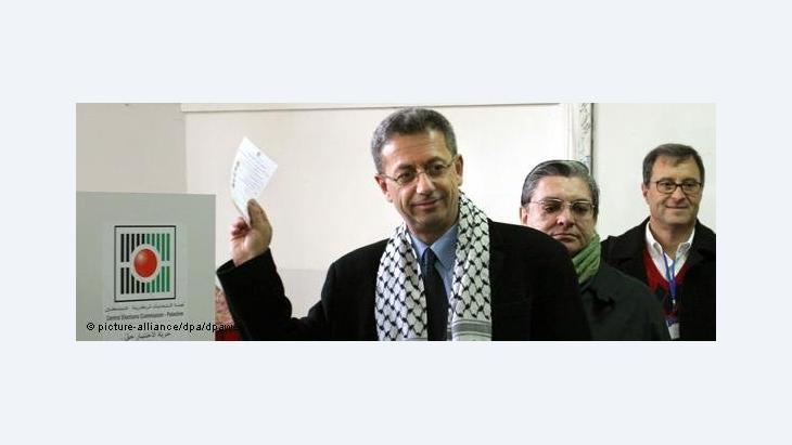 أمين عام المبادرة الوطنية الفلسطينية مصطفى البرغوثي، الصورة د ب ا