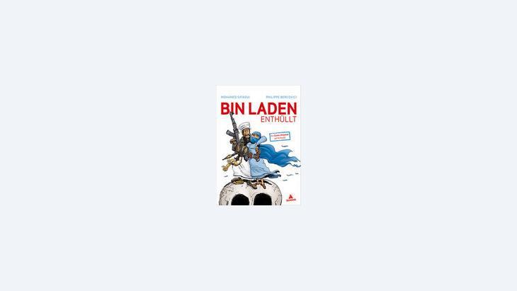 """غلاف كتاب """"تعرية أب لادن"""""""