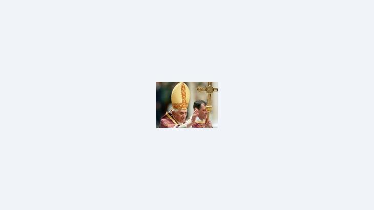 البابا بنديكت السادس عشر، الصورة: ا.ب