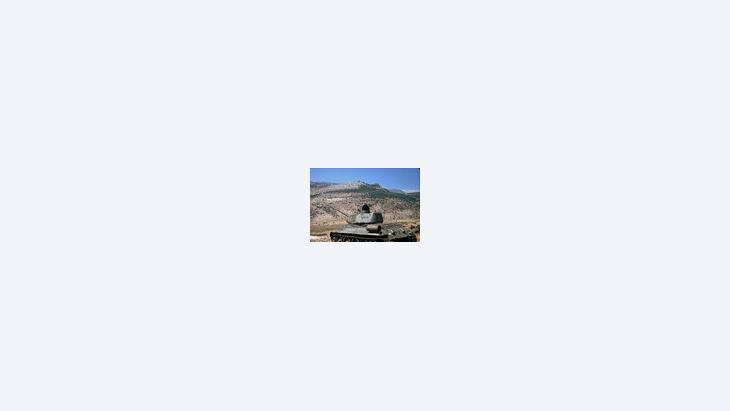 """""""تحقيق السلام في الشرق الأوسط يعني ضمان المصالح المشروعة لكل الأطراف المعنية في نهاية الأمر، ما يعني استعادة منطقة الجولان المحتلة منذ عام 1967 في حال سورية""""، الصورة: ROBw"""