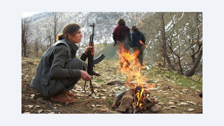 حزب العمال الكردستاني ونظام الأسد: د  ب ا