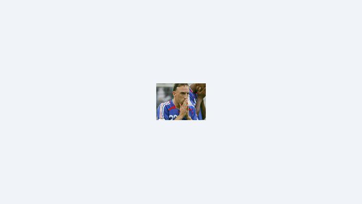 لاعب كرة القدم فرانك بلال ريبري، الصورة: د.ب.ا
