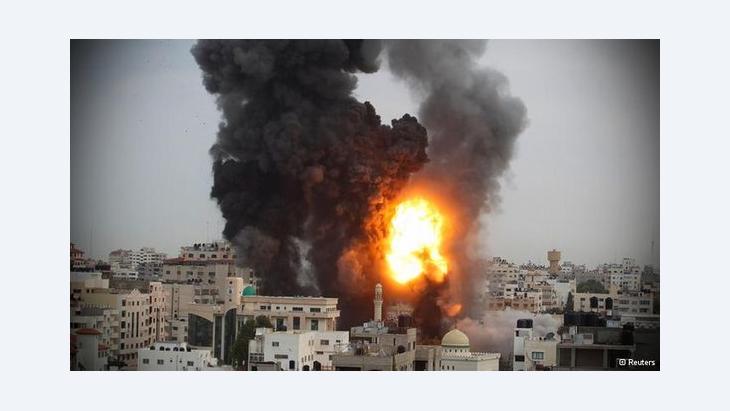الهجمات المتبادلة بين إسرائيل وحماس