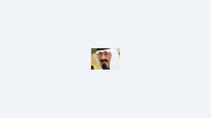 الملك عبد الله بن عبدالعزيز؛ الصورة: د ب أ