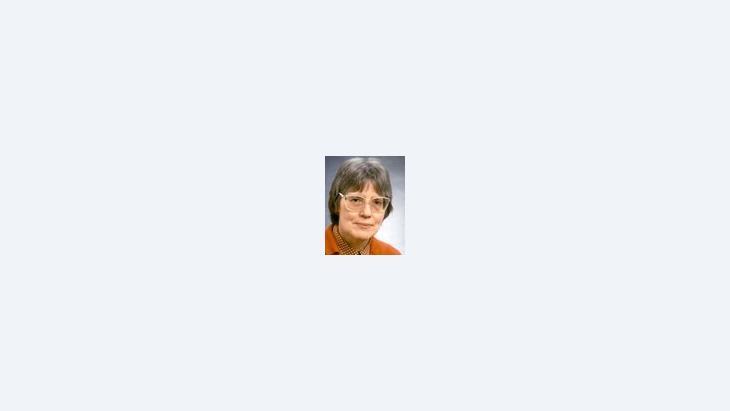 أورزولا شبولر-شتيغيمان، الصورة: الأرشيف الخاص