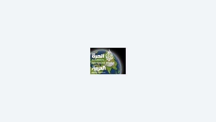 صورة رمزية عن الإعلام في العالم العربي، الصورة دويتشه فيله