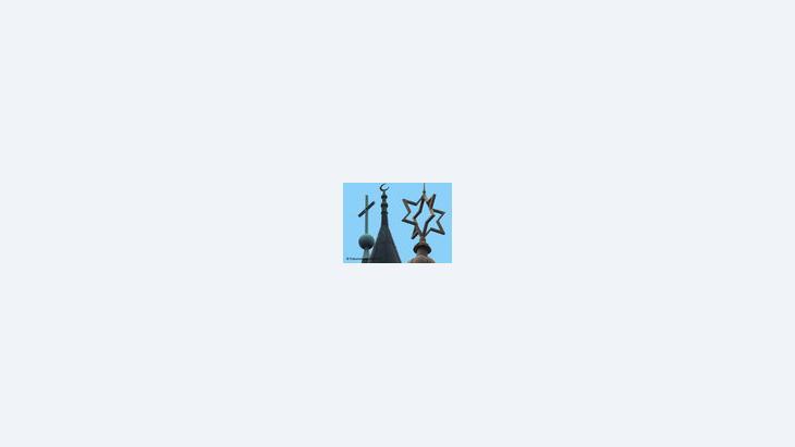 صورة رمزية للديانات، الصورة: أ.ب