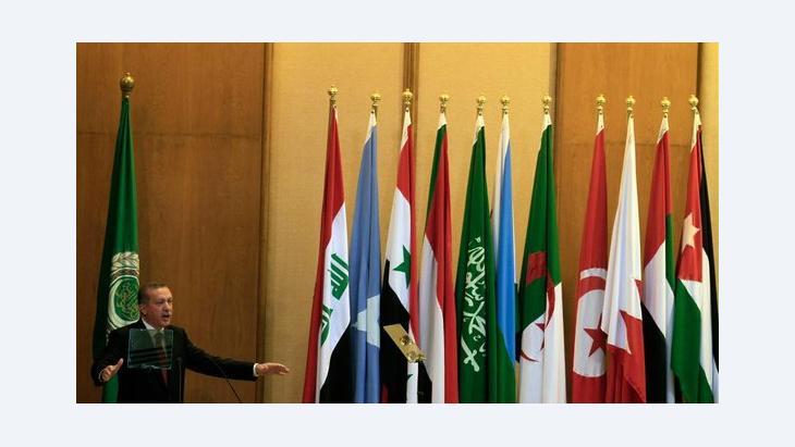 دور مصر في خارطة الشرق الأوسط الجديد: رجب طيب اردوغان في القاهرة