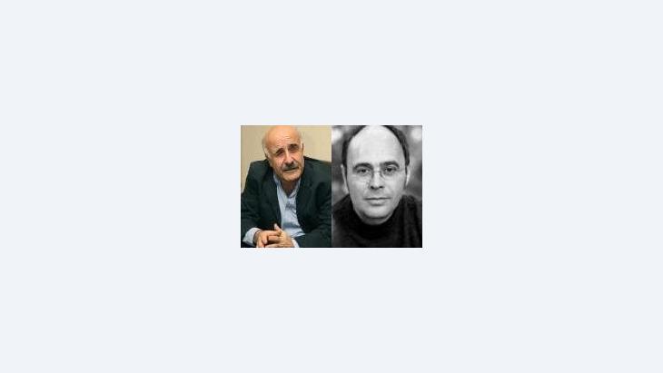 عباس بيضون و ميشائيل كليبرغ