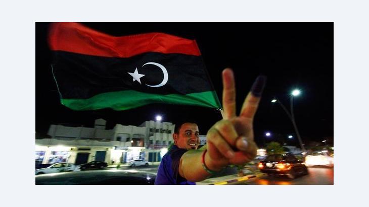 قيام الجمهورية الاولى في ليبيا بعد اول انتخابات ديمقراطية بعد استقلال ليبيا، الصورة روترز