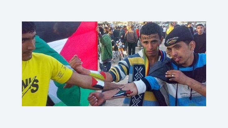 شباب من قطاع غزة يطالبون بإنهاء الانقسام الداخلي قبل التوجه إلى الأمم المتحدة