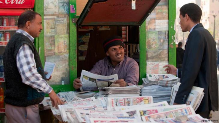 الاعلام المصري بوق لحكم العسكر