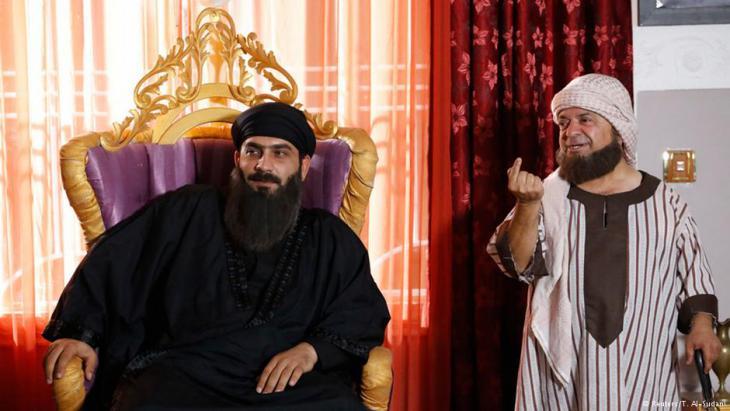 """موضوع التطرف تمت معالجته ايضا من خلال مسلسل تلفزيوني عراقي بعنوان """"دولة الخرافة"""""""