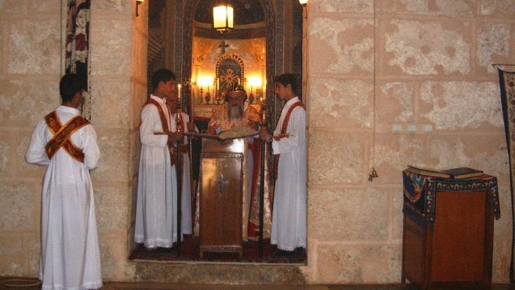 كنيسة في هضبة طور عبدين جنوب شرق تركيا