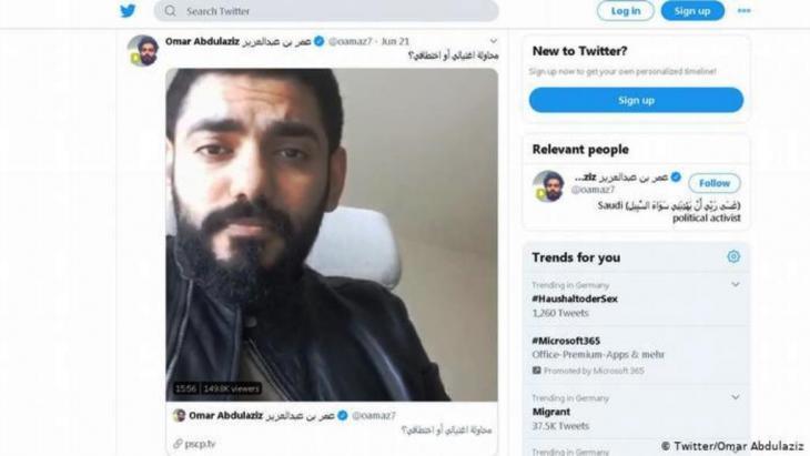 شوكة في عين محمد بن سلمان لماذا تلاحق السعودية عمر عبد العزيز Qantara De