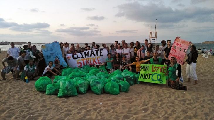 مبادرة بانلاستيك مصر: عمليات تنظيف الشواطئ (الإسكندرية، مصر) | ©Banlastic Egypt