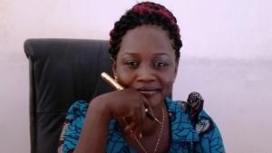 الكاتبة الجنوب سودانيَّة إستِيلّا قايتانُو (الصورة: من الأرشيف الخاص؛ المصدر: فيسبوك)  (photo: private; source: Facebook)