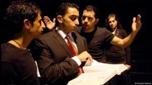 أكاديمية التمثيل والدراما في الضفة الغربية. الصورة: أكاديمية التمثيل والدراما في الضفة الغربية