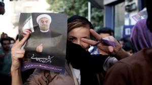 انتخابات إيران 2013. Getty Images MEHR AFP