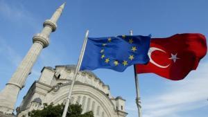 صورة تعبيرية عن انضمام تركيا للاتحاد الأوروبي. أ ب