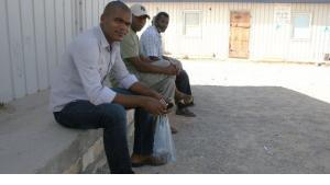 لاجئون من سكان مدينة تاورغاء. ماركوس زومانك