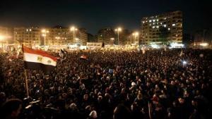 مئات الآلاف تظاهروا في مصر احتجاجاً على سياسات الرئيس محمد مرسي في نوفمر 2012. د أ ب د