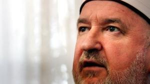 الشيخ مصطفى تسيريتش المفتي العام السابق للبوسنة والهرسك. غيتي إميجيس