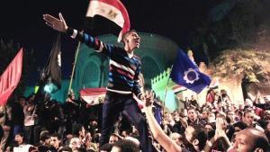 احتجاجات على الرئيس المصري  محمد مرسي. ديسمبر 2012. رويترز