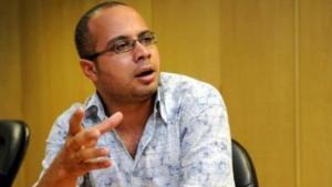 الناشط المصري المعروف أحمد ماهر المتحدث باسم حركة  أبريل ، الصورة  مفتاح