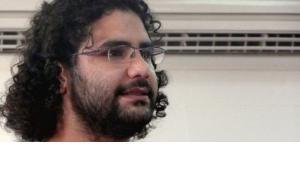 المدوِّن المصري المعتقل في القاهرة علاء عبد الفتاح