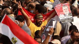أنصار محمد مرسي. رويترز