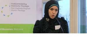 نهى عبد الهادي من برنامج الدراسات الإسلامية العليا في ألمانيا