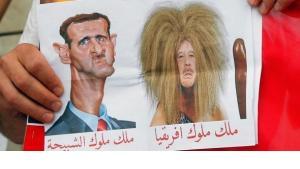 الفن والثورة السورية... الأسد ملك الغابة وملك ملوك الشبيحة!، الصورة د ب ا