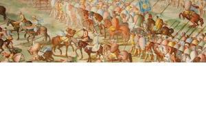 شاركَ جنود يهود إلى صف جيش أمير قرطبة المسلم محمد التاسع في القتال ضد القائد يوهان الثاني من منطقة قشتاله الإسبانية. ويكيبيديا