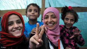 فوز توكل بجائزة نوبل للسلام اعتراف بدور المرأة العربية في الثورات التي تجتاح الدول العربية