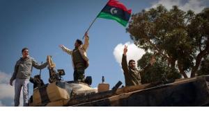 عام على انطلاق الثورة في ليبيا ضد نظام القذافي، الصورة دب ا