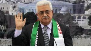 الرئيس الفلسطيني محمود عباس في رام الله. أ ف ب