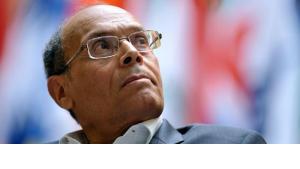 الرئيس التونسي منصف المرزوقي ا ب