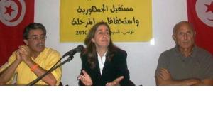 المعارضة التونسية مايا جريبي، الصورة دويتشه فيله